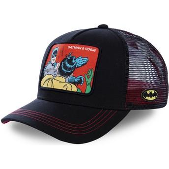 Casquette trucker noire Batman & Robin MEM2 DC Comics Capslab