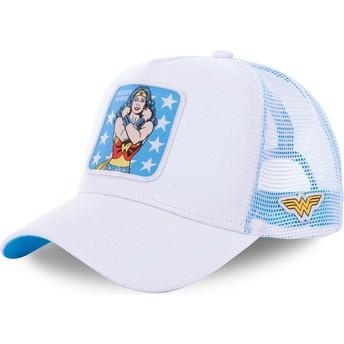 Casquette trucker blanche Wonder Woman WON1 DC Comics Capslab