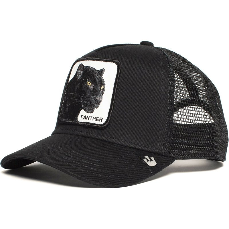 casquette-trucker-noire-panthere-black-panther-goorin-bros