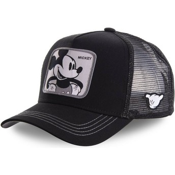 Casquette trucker noire Mickey Mouse MIC5 Disney Capslab