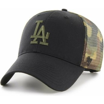 Casquette trucker noire et camouflage MVP Back Switch Los Angeles Dodgers MLB 47 Brand