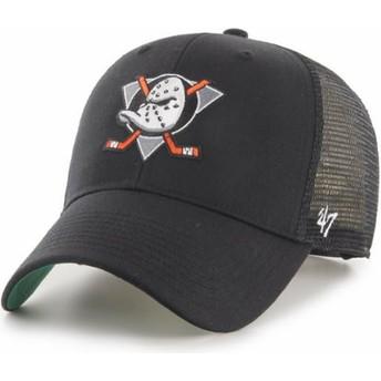 Casquette trucker noire MVP Branson Anaheim Ducks NHL 47 Brand