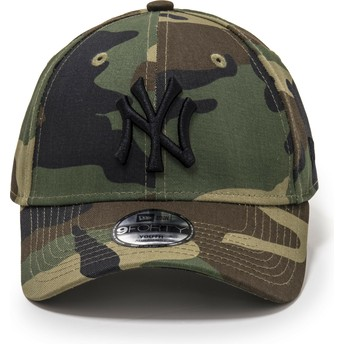 Casquette courbée camouflage ajustable pour enfant 9FORTY League Essential New York Yankees MLB New Era