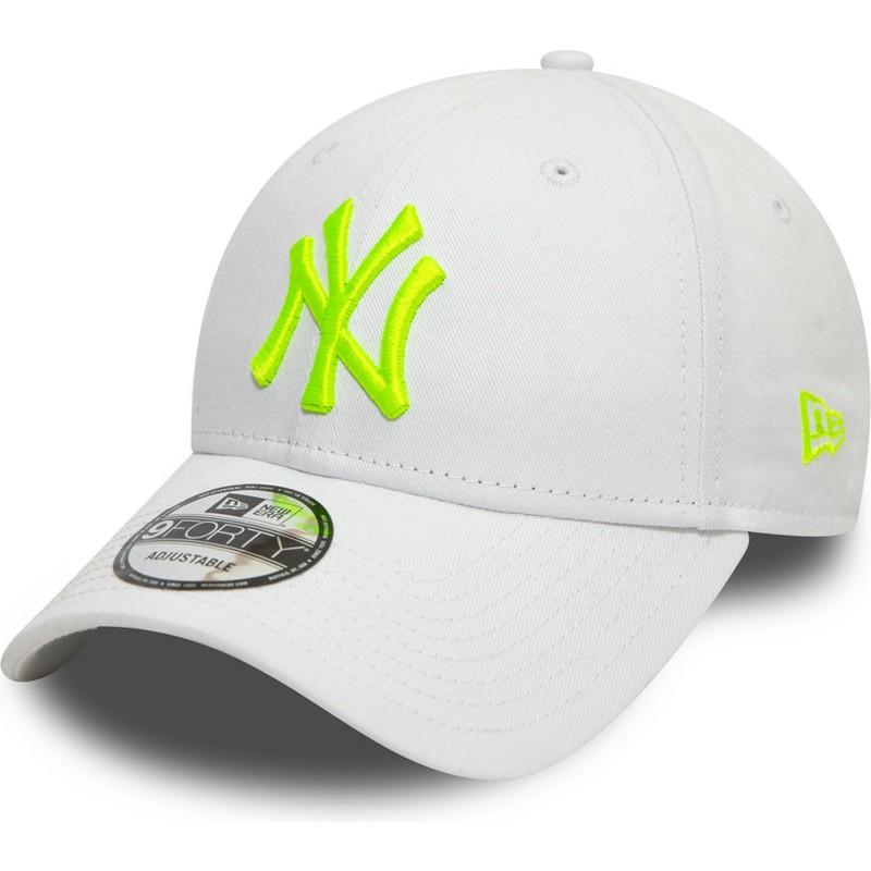 New Era Casquette New York Yankees League Essential Trucker A-Frame Snapback Vert