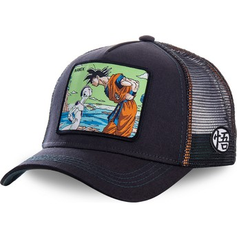 Casquette trucker bleue marine Goku Vs Frieza Namek NAM3 Dragon Ball Capslab