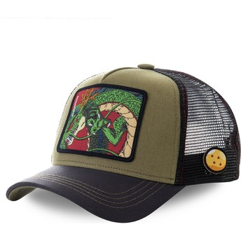 Casquette trucker marron Shenron RON1 Dragon Ball Capslab