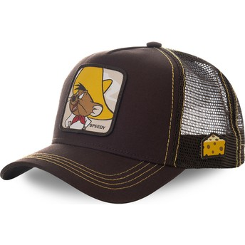 Casquette trucker marron Speedy Gonzales SPE1 Looney Tunes Capslab