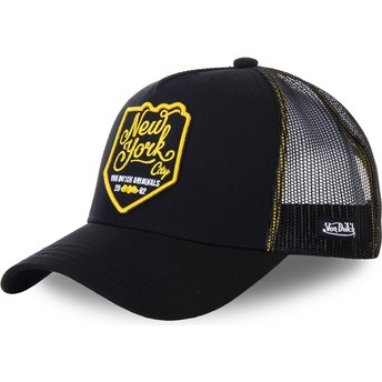Casquette trucker noire New York City NEW3 Von Dutch