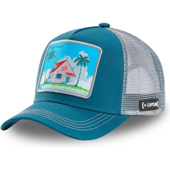 Casquette trucker bleue et grise Kame House HOU3 Dragon Ball Capslab
