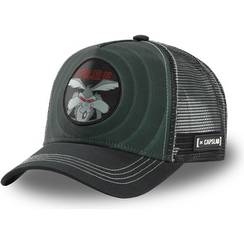 Casquette trucker noire Coyote Bullseye Color Rings WIL2 Looney Tunes Capslab