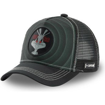 Casquette trucker noire Bugs Bunny Bullseye Color Rings LOO BUG2 Looney Tunes Capslab