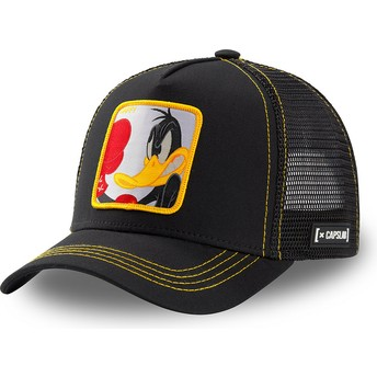 Casquette trucker noire Daffy Duck LOO DUK2 Looney Tunes Capslab