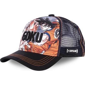 Casquette trucker noire Son Goku DBZ GOK Dragon Ball Capslab
