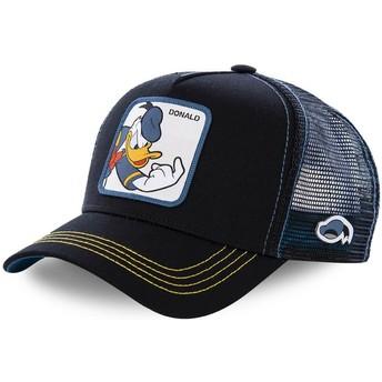 Casquette trucker noire pour enfant Donald Fauntleroy Duck KID_DON2 Disney Capslab
