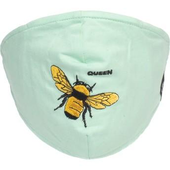 Masque réutilisable vert menthe abeille Buzzy Bee Goorin Bros.