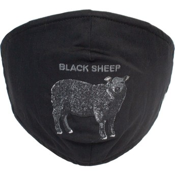 Masque réutilisable noir mouton Sheep Rock Goorin Bros.
