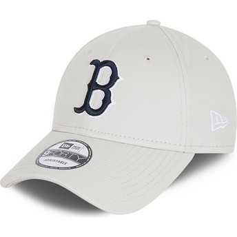 Casquette courbée blanche ajustable 9FORTY League Essential Boston Red Sox MLB New Era