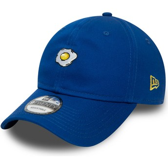 Casquette courbée bleue ajustable 9TWENTY Food Oeuf Frit New Era