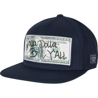 Casquette plate bleue marine snapback WL Dolla Billy Cayler & Sons