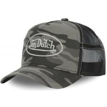 Casquette trucker camouflage CAM SIL Von Dutch