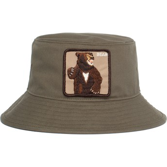 Chapeau seau vert ours Fighting Bear Goorin Bros.