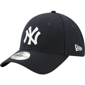 Casquette courbée bleue marine ajustable 9FORTY The League New York Yankees MLB New Era