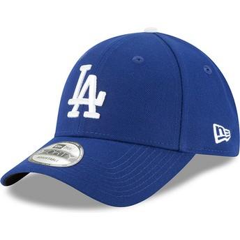 Casquette courbée bleue ajustable 9FORTY The League Los Angeles Dodgers MLB New Era