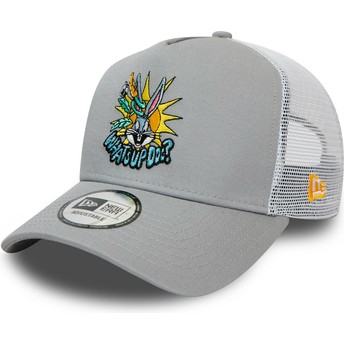 Casquette trucker grise Character A Frame Bugs Bunny Looney Tunes New Era
