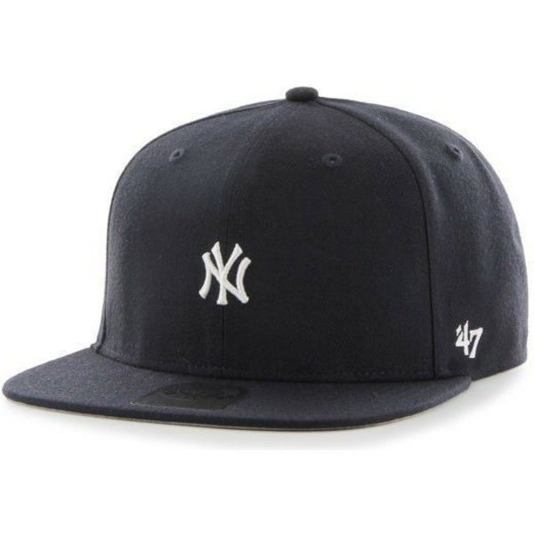 casquette-plate-bleue-marine-snapback-new-york-yankees-mlb-centerfield-47-brand