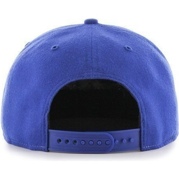 casquette-plate-bleue-et-grise-snapback-los-angeles-dodgers-mlb-sure-shot-47-brand