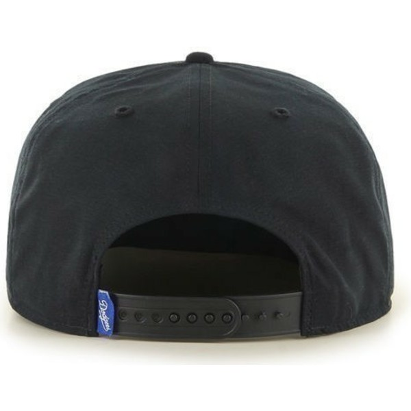 casquette-plate-noire-snapback-los-angeles-dodgers-mlb-47-brand