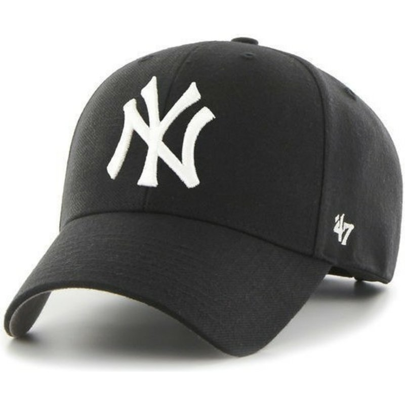 casquette-courbee-noire-new-york-yankees-mlb-47-brand
