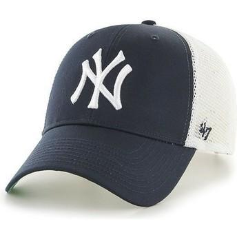 Casquette trucker bleu marine MLB NewYork Yankees 47 Brand