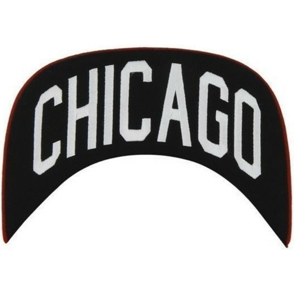 casquette-plate-rouge-snapback-unie-nhl-chicago-blackhawks-47-brand