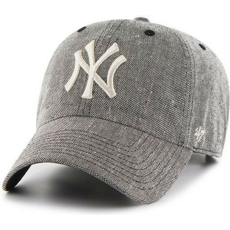 casquette-a-visiere-courbee-noire-avec-grand-logo-frontal-mlb-newyork-yankees-47-brand