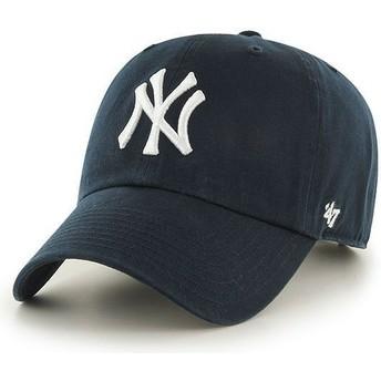Casquette courbée bleue marine pour enfant New York Yankees MLB 47 Brand