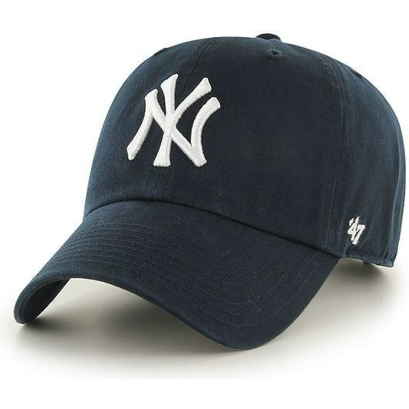 7745f2ec32b7 Casquette courbée bleue marine pour enfant New York Yankees MLB 47 ...