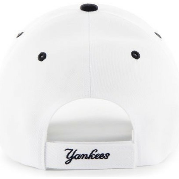 casquette-courbee-blanche-avec-visiere-noire-new-york-yankees-mlb-47-brand