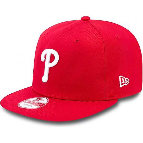 casquette-plate-rouge-snapback-ajustable-9fifty-essential-philadelphia-phillies-mlb-new-era